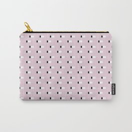 Minimal Squares - Dusty Rose Carry-All Pouch
