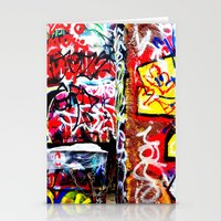 grafitti Stationery Cards featuring Grafitti by Emily Dolenz Photography