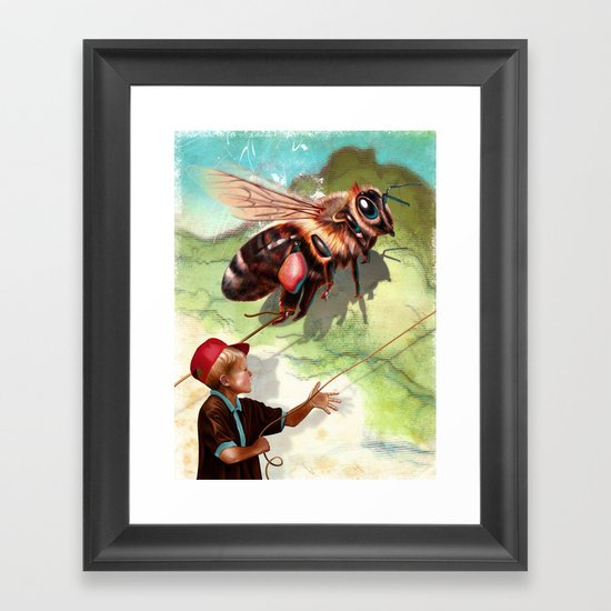 BumbleFreeze Framed Art Print