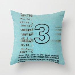 Ilium Public Library Card No. 3 Throw Pillow