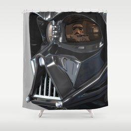 Darth Vader Playboy Flagrant Shower Curtain