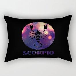 Scorpio Astrological Sign Rectangular Pillow
