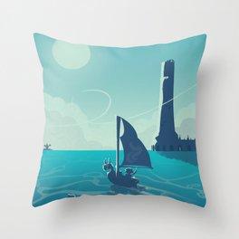 Zelda Wind Waker Throw Pillow