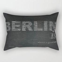 BERLIN is Rectangular Pillow