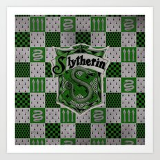 Slytherin Art Print