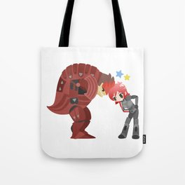 Mass Effect - Wrex and Shepard Tote Bag