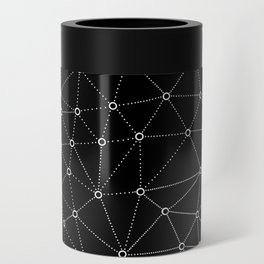African Triangle Black Can Cooler