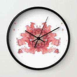 Inkdala II (Rorschach) Wall Clock