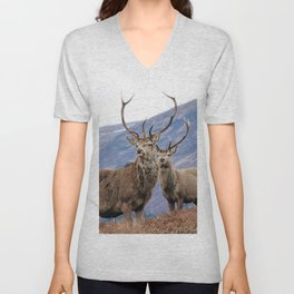 Stags Unisex V-Neck
