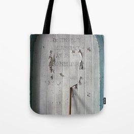 Honesty Tote Bag
