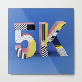 5k Metal Print