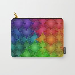 Rainbow Star Pillows Pattern Carry-All Pouch