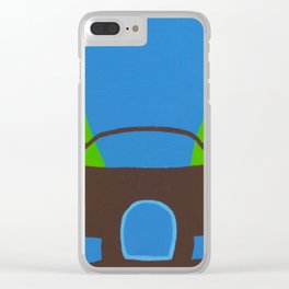 Hypercar_001 Clear iPhone Case