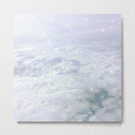 Stars in the Clouds Metal Print