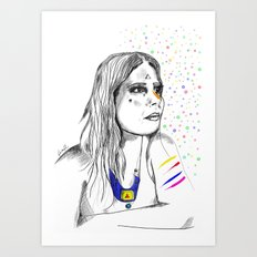 Colored Imagination Art Print