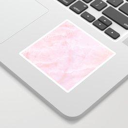 Sugar Pink Marble Sticker