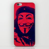 che iPhone & iPod Skins featuring Expect Che by rubbishmonkey