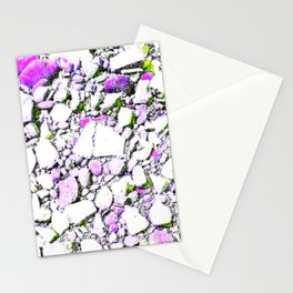 Pebbled beach Stationery Cards