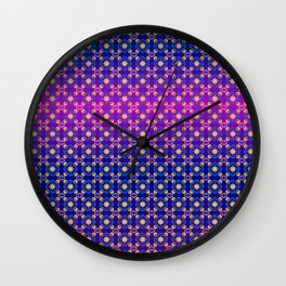 Floral Design CO-Ret 003 Wall Clock
