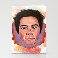 dylan Stationery Cards featuring Dylan by Devon F.