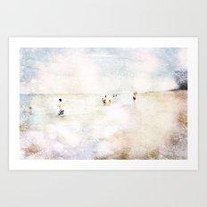 Florida at Dusk Art Print