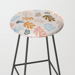 Seaweeds and sand Bar Stool