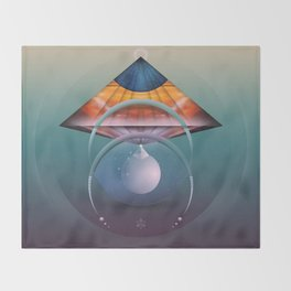 ∆ andromedan eclipse Throw Blanket