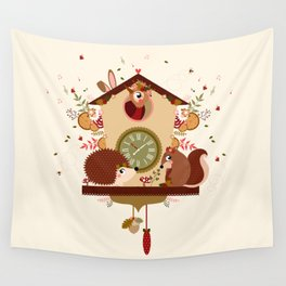 Coucou sauvage Wall Tapestry