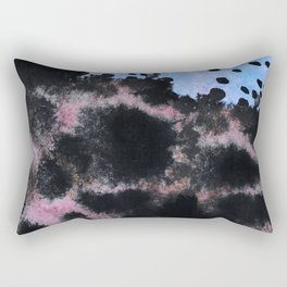Traces Touch Rectangular Pillow