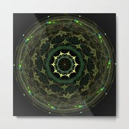 Mandala Two Metal Print