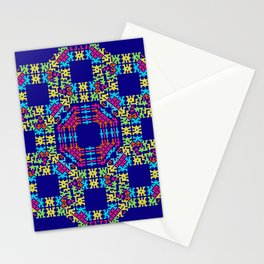 """""""Snowflakes"""" series #6 Stationery Cards"""