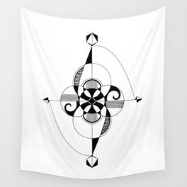 Connect Reject Rejoin Wall Tapestry
