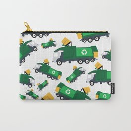 Garbage Truck Toys Truck Pattern Carry-All Pouch
