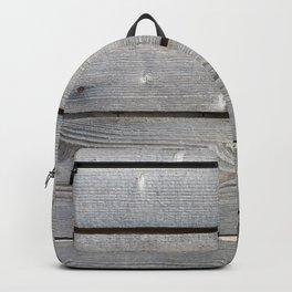 old wooden planks background Backpack