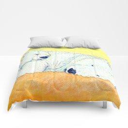 white bear Comforters