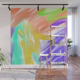 Abstract 2 Painting in Oil Wall Mural