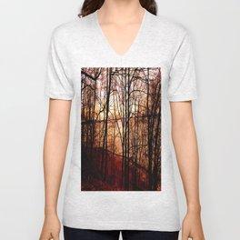 forest  xxxx Unisex V-Neck