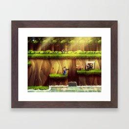 Contra Framed Art Print