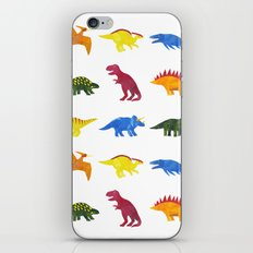 Dinosaurs! iPhone & iPod Skin