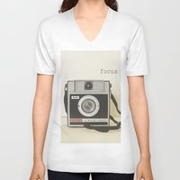 focus V-neck T-shirts featuring Focus by ShadeTree Photography