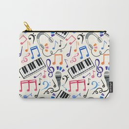 Good Beats - Music Notes & Symbols Carry-All Pouch