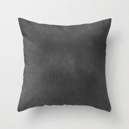 Grey Velvet Throw Pillow