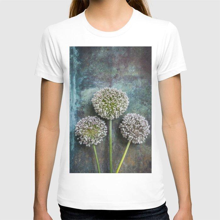 Three Allium Flowers T-shirt