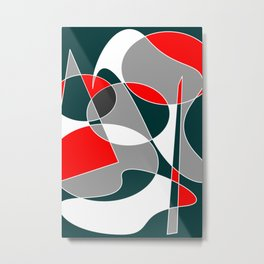 Abstract #76 Metal Print