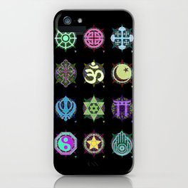 World Religions -- Group iPhone Case