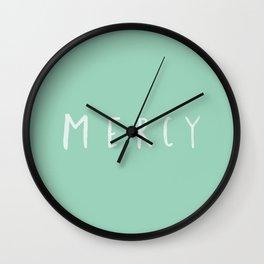 Mercy x Mint Wall Clock