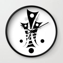 Catemissius - artistic cats Wall Clock