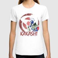 kakashi T-shirts featuring KAKASHI by BradixArt