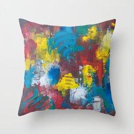 Meditative Reality Throw Pillow