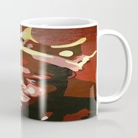 notorious big Mugs featuring Notorious Big by The Art Of Gem Starr